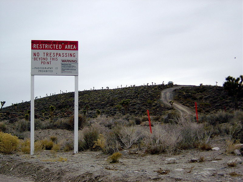 Phantom in the Desert ... A Radio Guide to Area 51